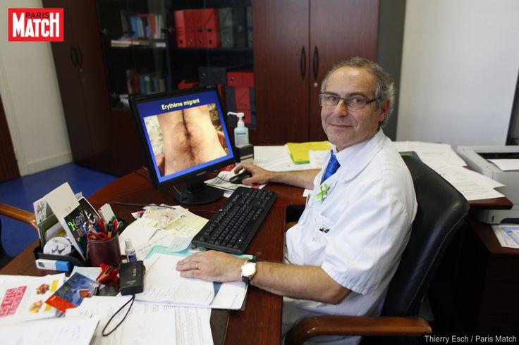 Le Pr Christian Perronne, chef du département des maladies infectieuses et tropicales del'hôpital universitaire Raymond-Poincaré de Garches, dénonce l...