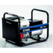 SDMO HX7500T 3 Phase Petrol Generator