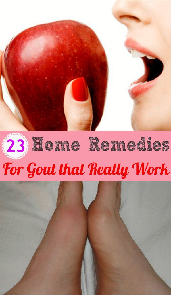 Natural Cures For Gout Remedies