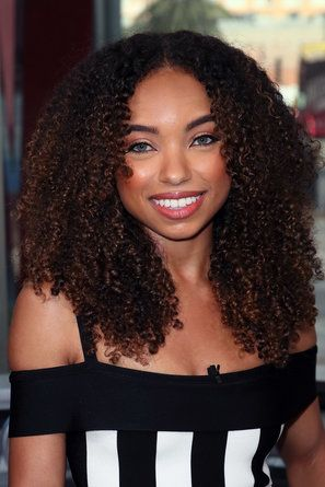 Logan Browning's Curly Hair Moments - 'Dear White People' Star Logan Browning Is Our New Curly Girl Crush
