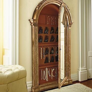 ***currently on Frontgate website***Elizabeth Storage Mirror