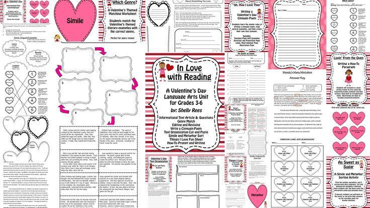1000 images about valentine 39 s day language arts ideas on pinterest. Black Bedroom Furniture Sets. Home Design Ideas