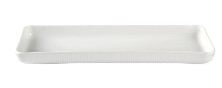 Royal Copenhagen White Fluted Plain Tapas Dish 14.5 Inches: Amazon.co.uk: Kitchen & Home