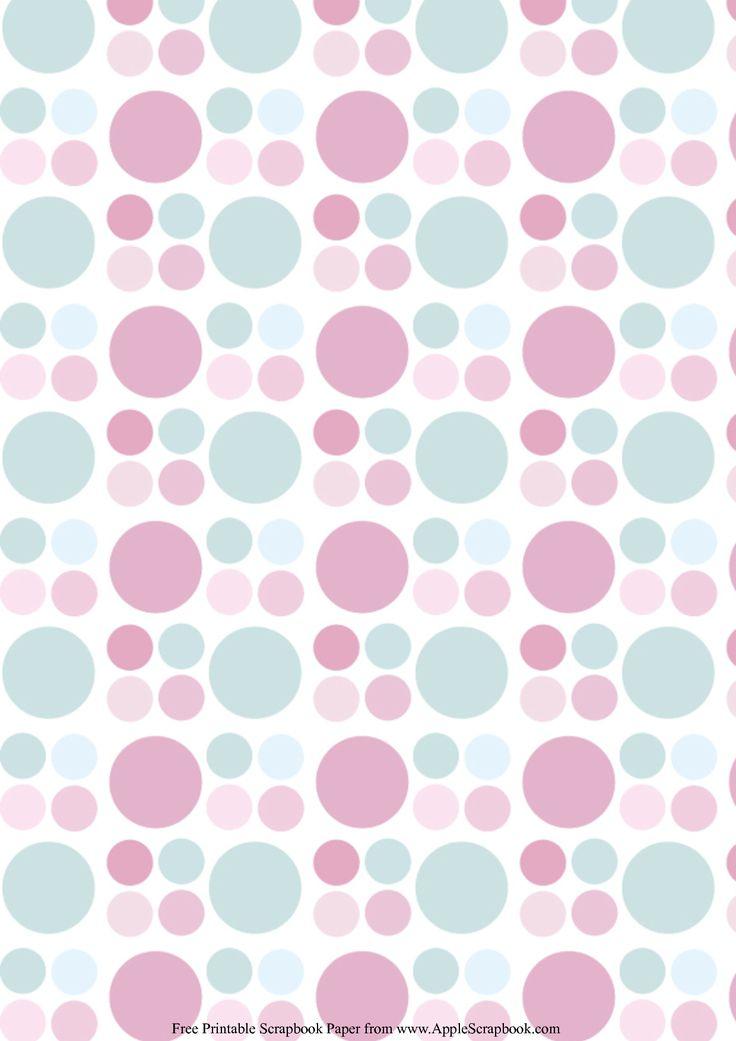 Printable Loose Leaf Paper Alluring 7 Best Polkadot Background Images On Pinterest  Polka Dots .
