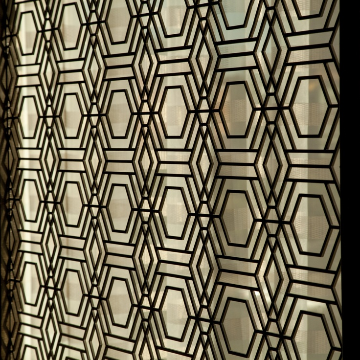 Yabu Pushelberg decoration in Diamond Lounge #design #detail #stregis