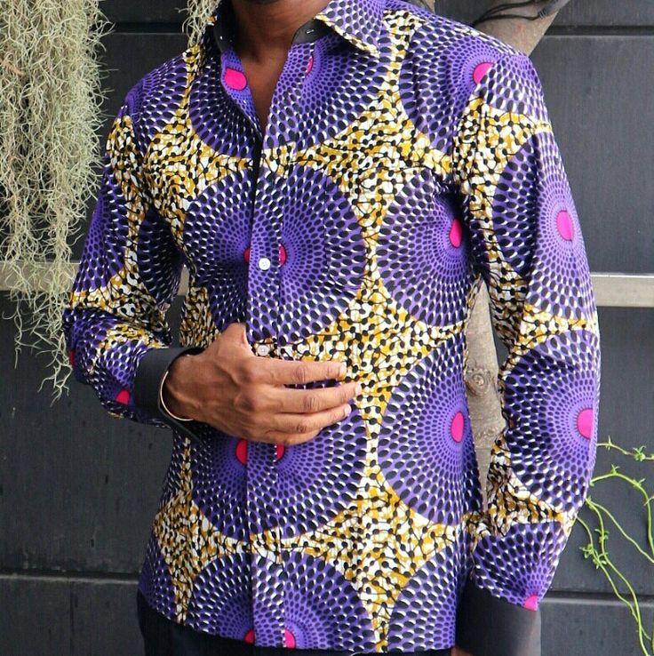 Viscount Ankara Shirt $120.00