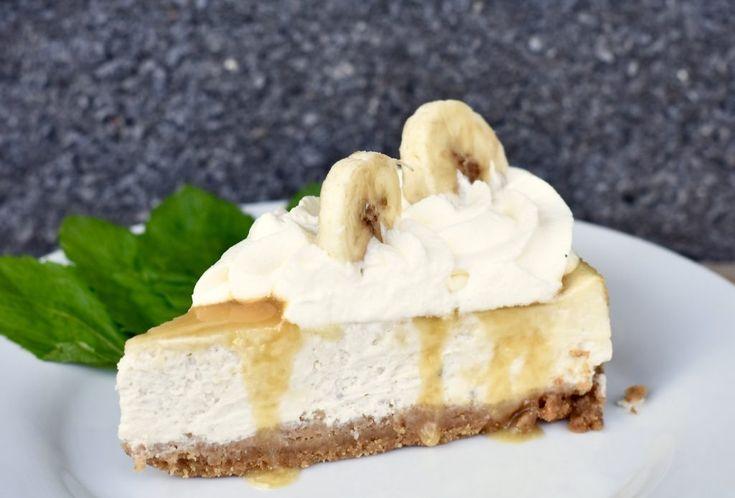 Banoffee cheesecake   Hannas bageri