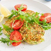 Free haloumi & snow pea fritters recipe. Try this free, quick and easy haloumi & snow pea fritters recipe from woolworths.com.au.