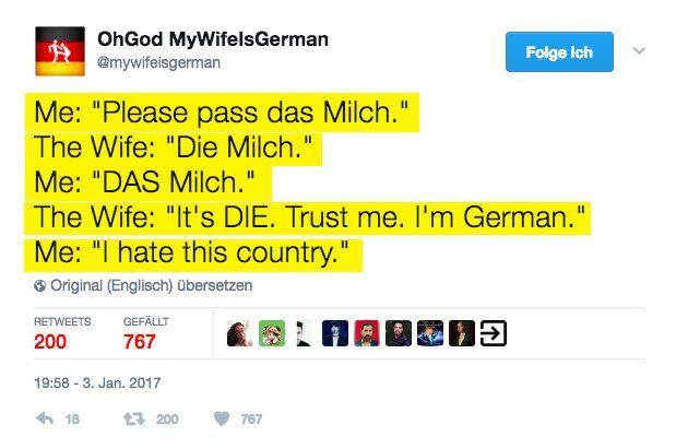Deutsche Artikel sind der Endgegner.