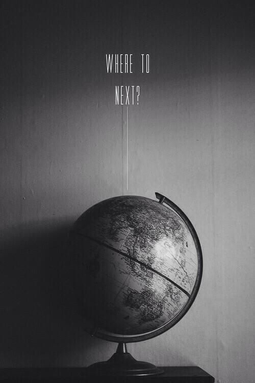 """Where to Next? More like """"Where to first?""""..and I know where. Colombia :)"""