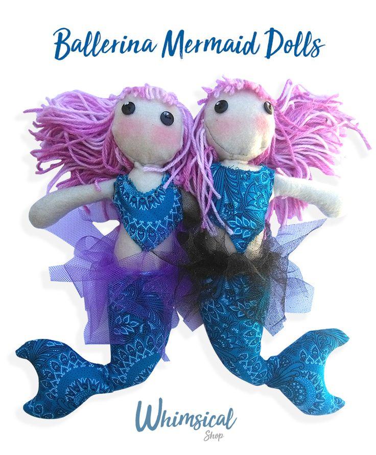 Ballerina Mermaid Dolls