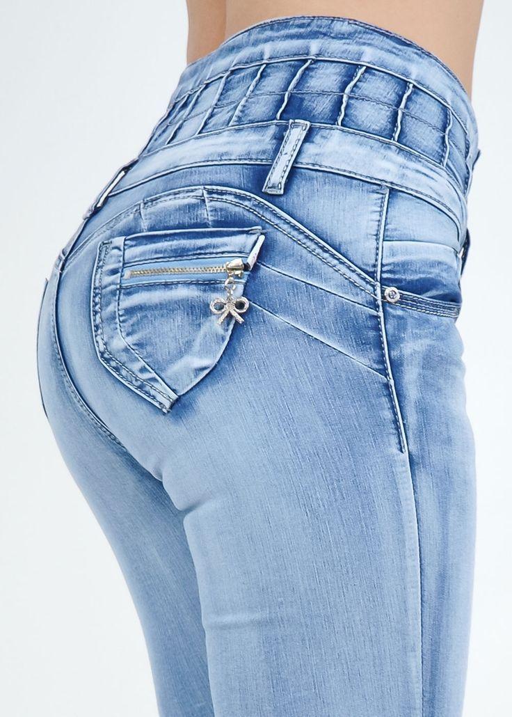 Butt Lift High Waist Jeans - More Details → http://fashiononlinepictures.blogspot.com/2013/04/butt-lift-high-waist-jeans.html.