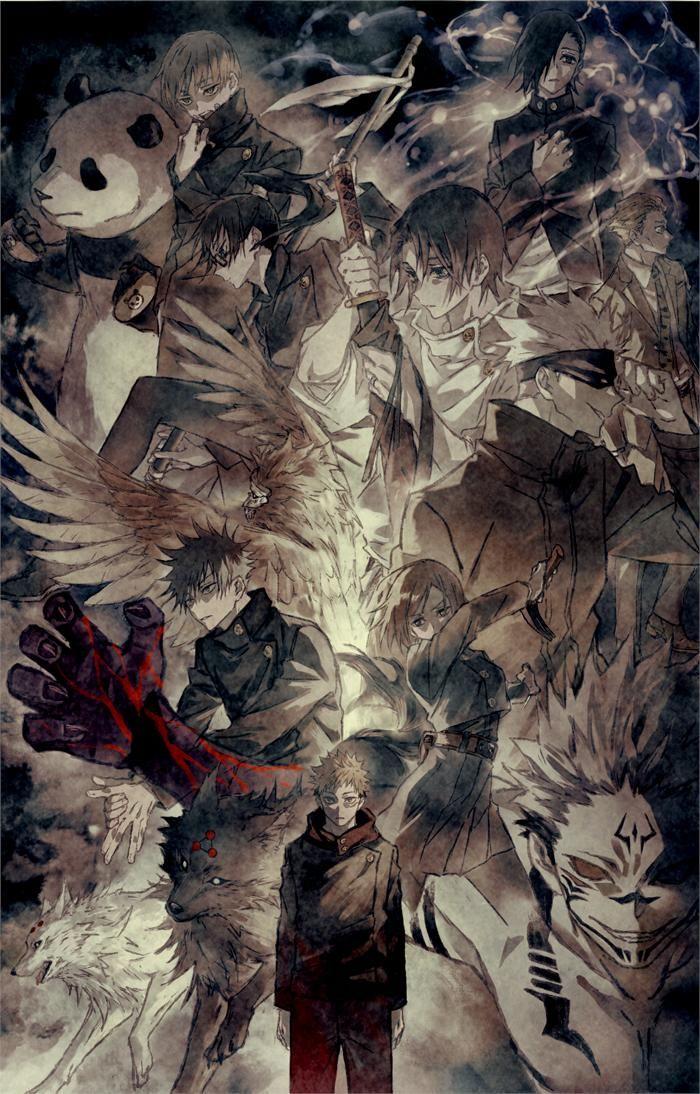 まぐ on Twitter   Jujutsu, Anime art, Anime wallpaper