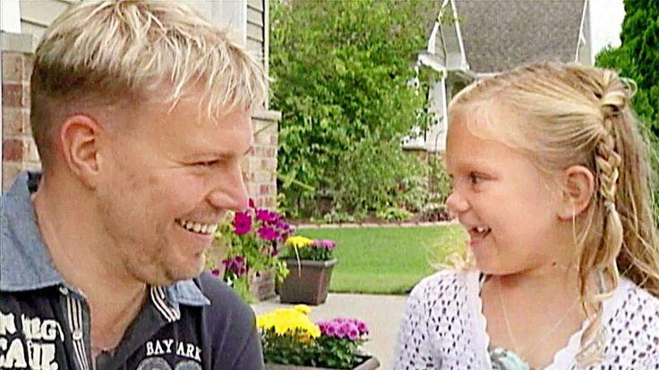 SEIN KNOCHENMARK WAR IHRE EINZIGE CHANCE DIESER Deutsche rettet US-Mädchen (4) das Leben