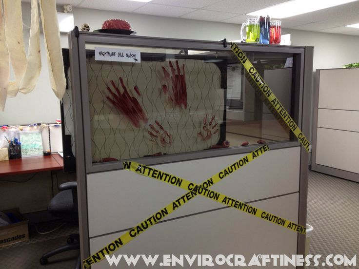 Cubicle Decorating Ideas Theme Part - 37: Halloween Cubicle Photo A6236249-8789-4285-A750-C0719F963368-29345 .. Cubicle  IdeasCubicle DecorationsWork ...