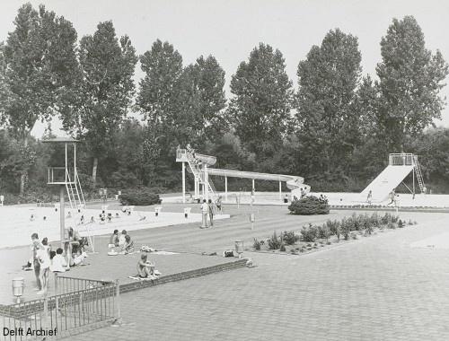 Zwembad t Korft Delft Archief - Print scherm