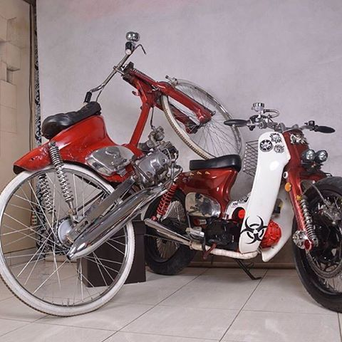 honda c70 street cub indonesia - Google Search