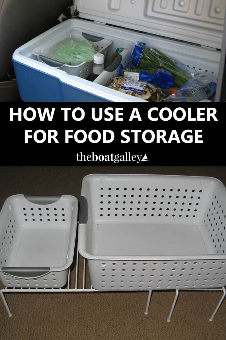 Methods to Use an Ice Field Cooler for Meals Storage