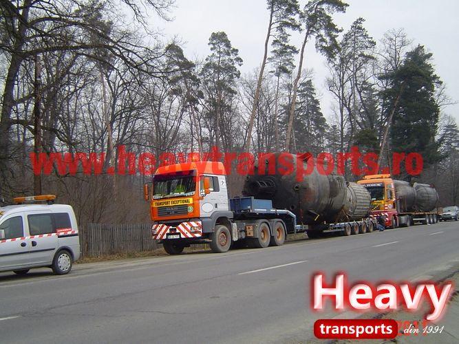 Transport agabaritic international & intern - Heavy Transports