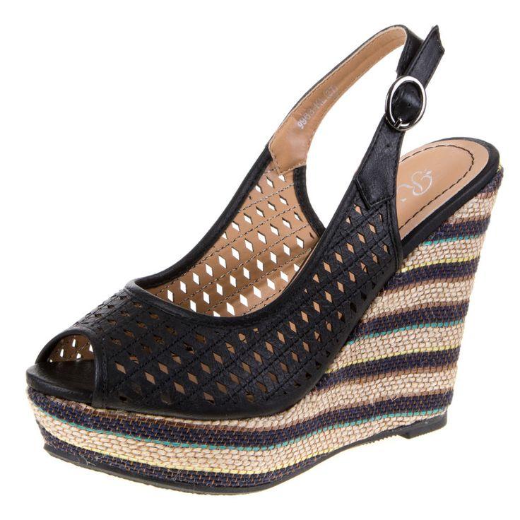 zwarte Dames Sandalen  Hoge hakken, laarzen, enkellaarsjes, pumps, sleehakken, sandalen slingbacks shop ze online Gratis verzending NL >> http://www.emeralbeautylife.nl/