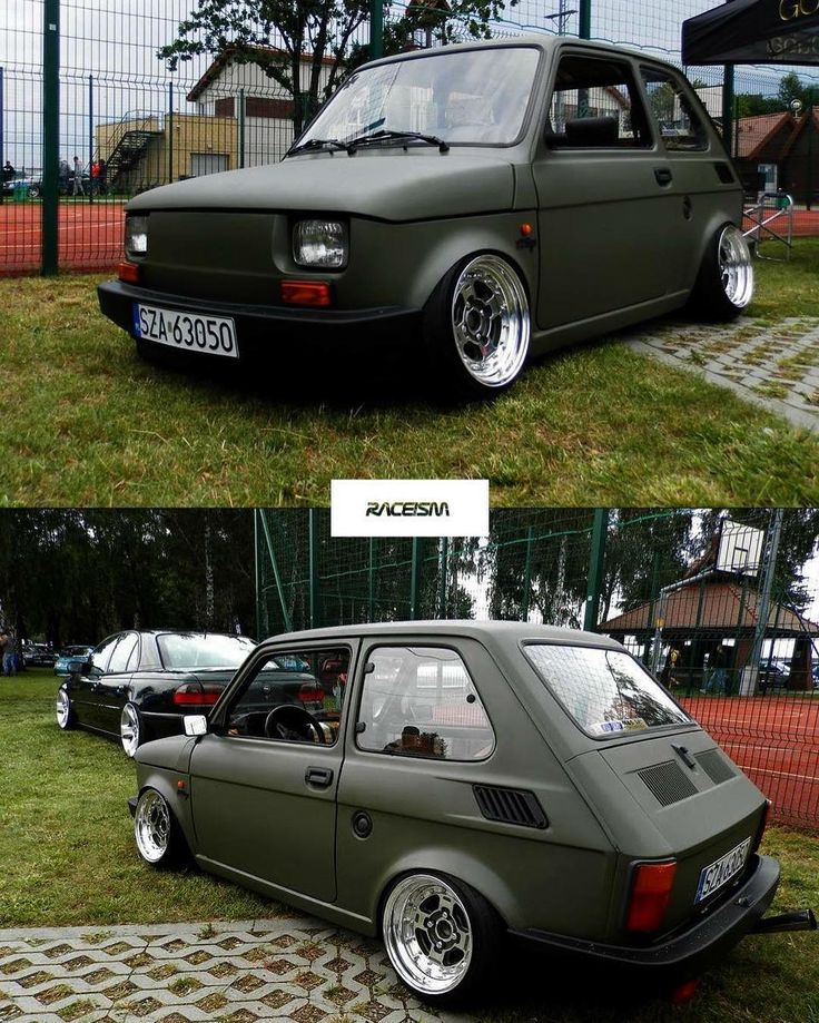 Style over $$$ | FIAT 126P | TF37 http://raceism.com/forum/index.php #gohard  #raceism  #theevent2017  #126p