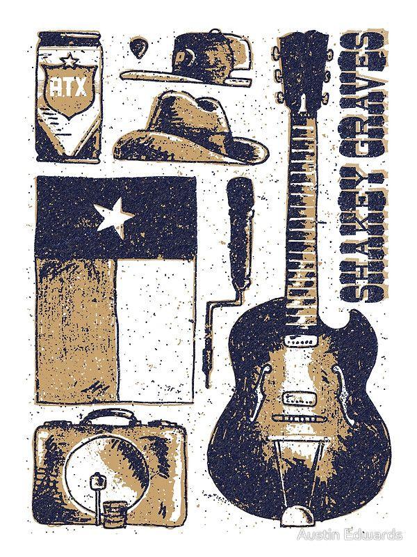 Shakey Graves Poster