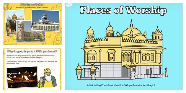 Places of Worship Sikh Gurdwaras KS1 Powerpoint - religion, ks1 ...