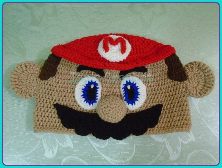 Free Crochet Pattern For Mario Hat Pakbit For