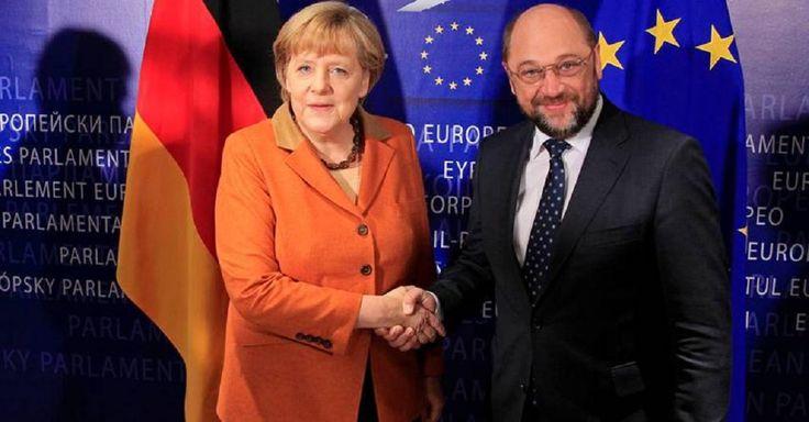 Δημοσκόπηση ARD για τη γερμανική καγκελαρία: Ο Σουλτς χτυπά στα ίσια τη Μέρκελ