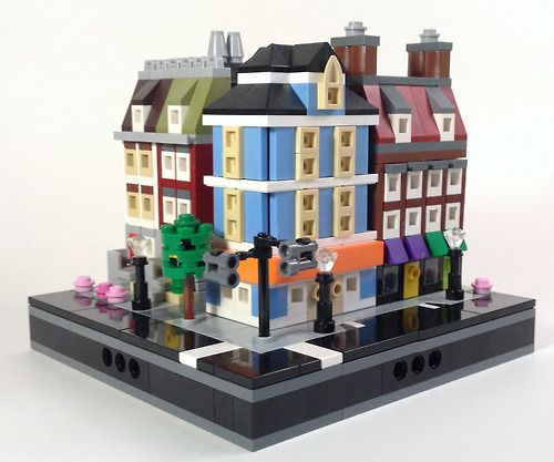 595 Best Lego Microscale Images On Pinterest