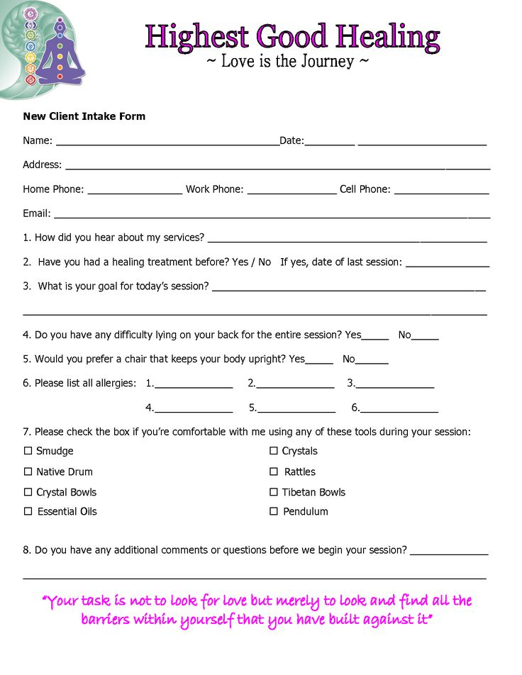 Pure Reiki Healing - Client Intake Form for Reiki Treatment - DOC by 8f57t6 - Amazing Secret Discovered by Middle-Aged Construction Worker Releases Healing Energy Through The Palm of His Hands... Cures Diseases and Ailments Just By Touching Them... And Even Heals People Over Vast Distances...