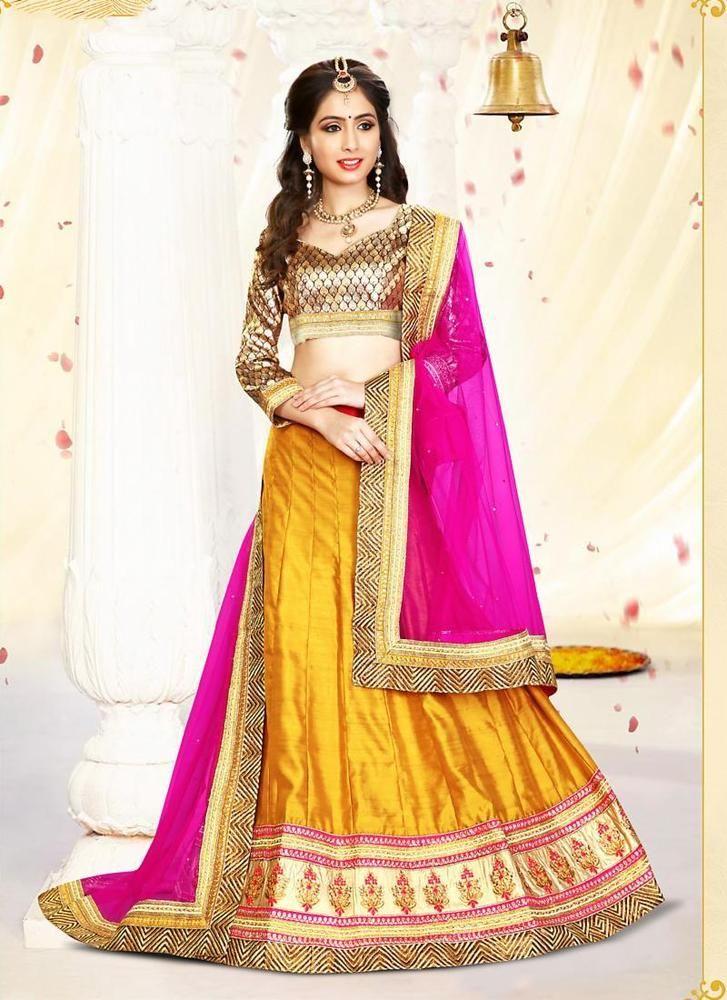 Traditional Indian Ethnic wear Pakistani Lehenga Bridal Choli Wedding Bollywood