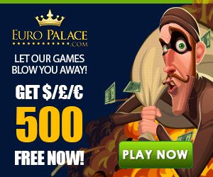 Euro Palace Online Casino Opening Offer Plus click on the link for the High Roller £ 1500 offer #onlinecasino #videoslots #bestcasinos #casinojackpot #casinobonus www.bonusplaycasinos.com