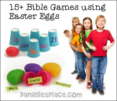 15+ Easter Bible Games for Children's Ministry and Sunday School
