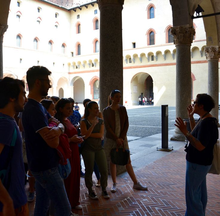 Student Trip to Castello Sforzesco in Milan