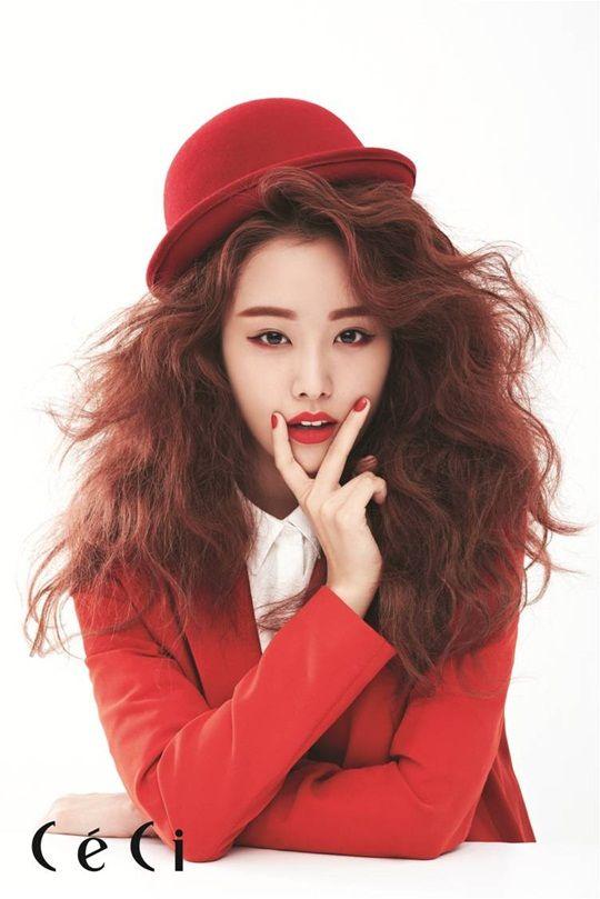 SECRET's Song Ji Eun CéCi Korea Magazine September Issue '13