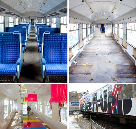 All Aboard! Clever Recycled Train Car Homes, Offices
