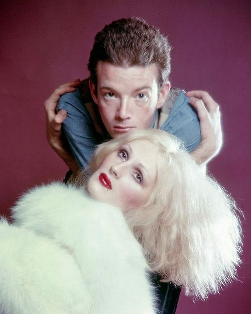 Candy Darling & Jackie Curtis / Photographed by Jack Mitchell / 1971