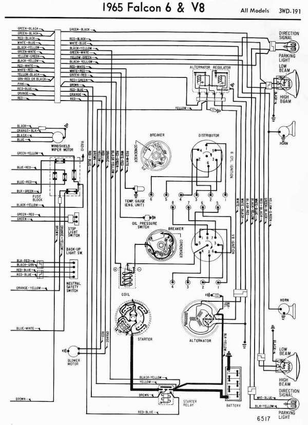1965 F100 Wiring Diagram Ford Truck Technical Drawings And Schematics Section I Electrical And Wiring 1965 Ford F100 Truck Wirin Ford Technical Drawing Diagram