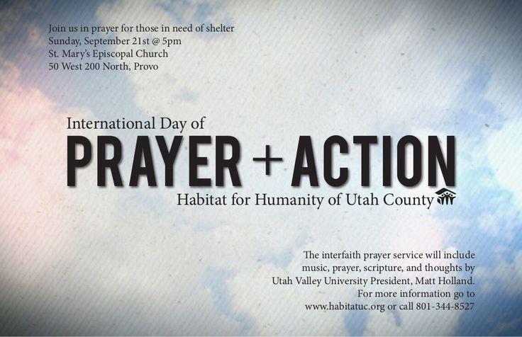 Dayof Prayer 2014 by Habitat Humanity via slideshare