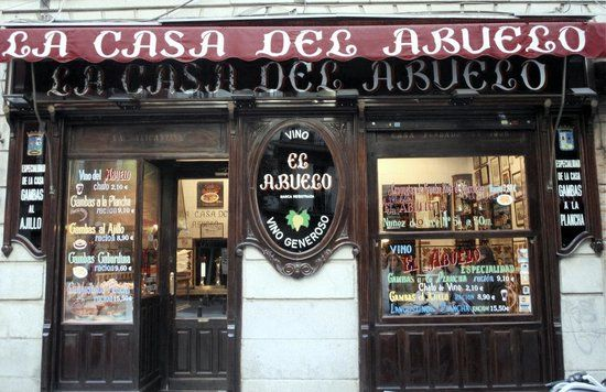 La Casa Del Abuelo, Madrid: See 488 unbiased reviews of La Casa Del Abuelo, rated 4 of 5 on TripAdvisor and ranked #545 of 8,425 restaurants in Madrid.