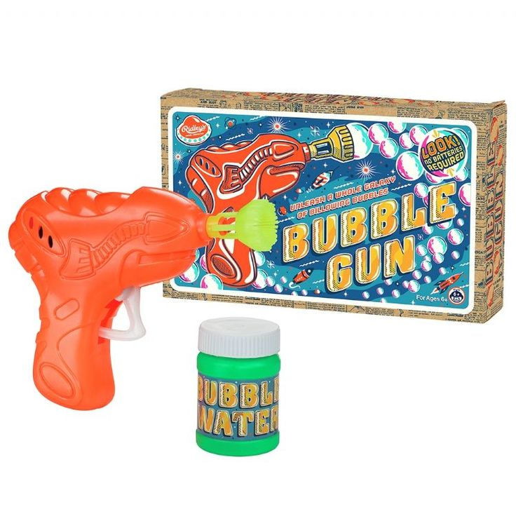 how to make bubble mixture for bubble gun