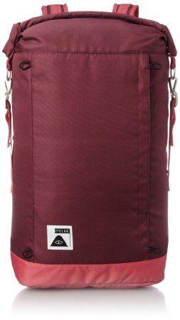 Poler Stuff Bag Rolltop Pack, Sweet Berry Wine/Steel Blue/Cayenne, 50 x 40 x 6 cm, 18 Liter, POLBAG_ROLP
