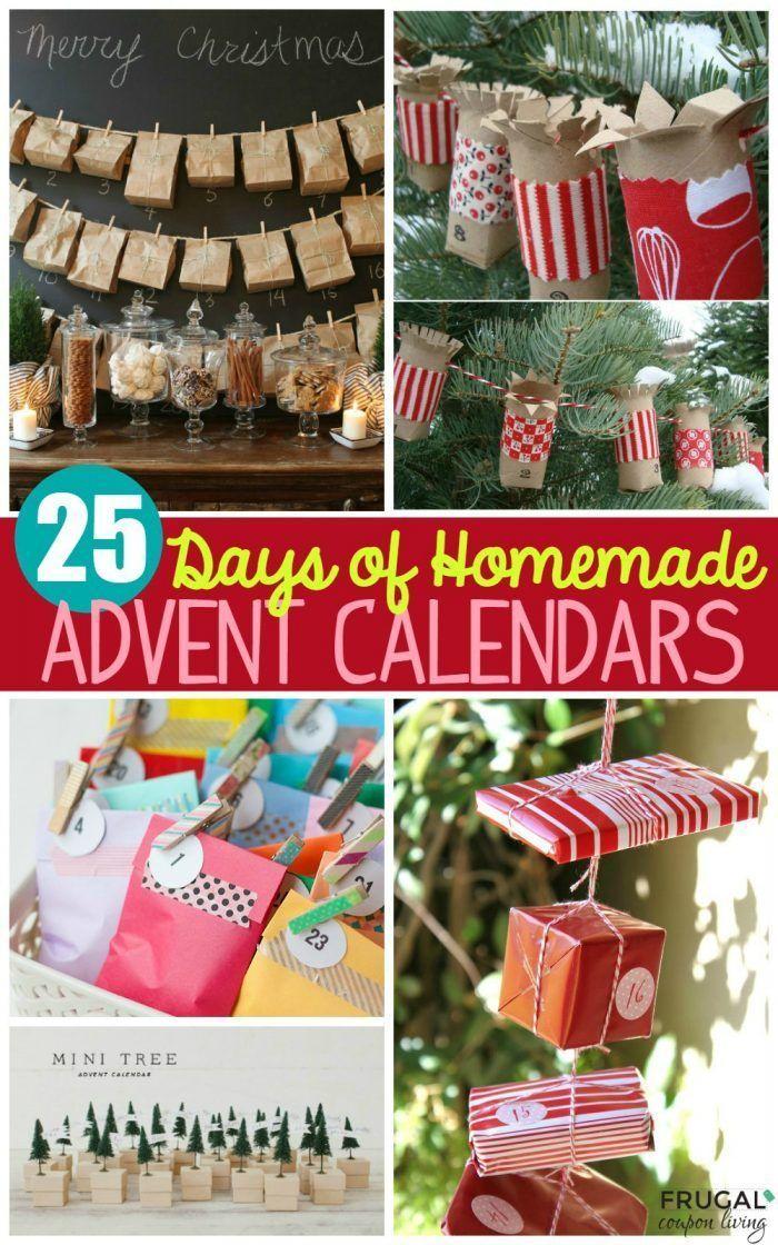 Diy Calendar Gift : Best homemade advent calendars ideas on pinterest