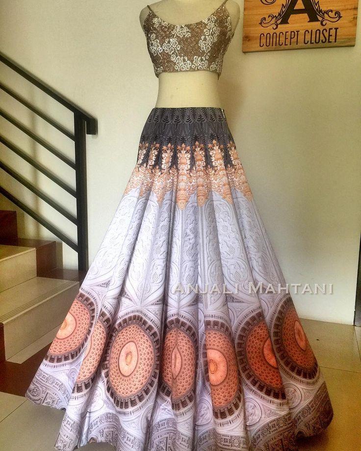 Art transformed❤ Our very own Digital customised lengha. #getyourartright . . . #saree #lace #wedding #indianwedding #_indian_weddings_ #couture #desi_couture #shaadi #indianshaadi #weddinginspiration #lace #wedding #indianwedding #_indian_weddings_ #couture #desi_couture  #indianshaadi #weddinginspiration #allthingsbridal #bridal_dreams #asianbrides #asianweddings #fashion #indianbride  #anjalimahtanicouture #blogger  #stylist #celebritystylist #lfw #aifw #fashion2017 #jakartadesigner…