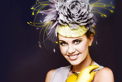 Amazing Melbourne Cup outfit.