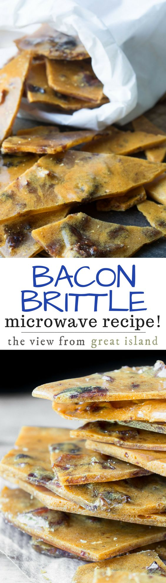 Bacon Brittle ~ the super inventive treat that has everybody talking, and it's made right in the microwave!