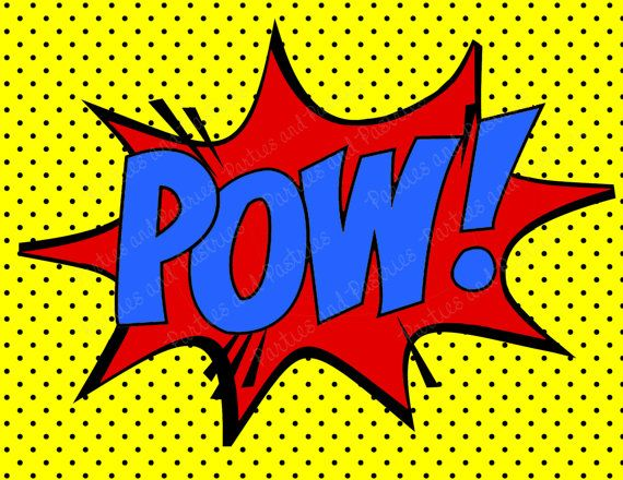 SUPERHÉROE fiesta signos  superhéroe por BlissDesignCompany en Etsy