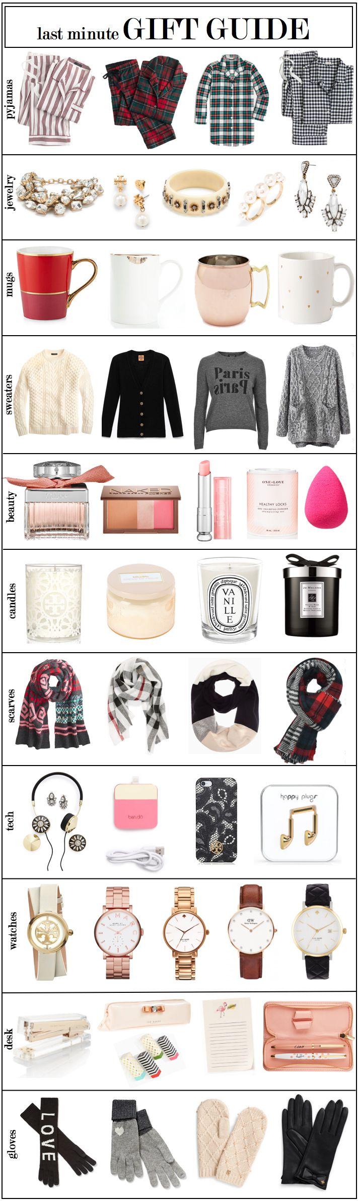 | Last Minute Gift Guide | http://monikahibbs.com
