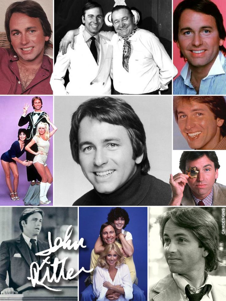John Ritter (Sept. 17, 1948 – Sept. 11, 2003) was an American actor & comedian best known for playing Jack Tripper on the hit ABC sitcom Three's Company, for which he won an Emmy and a Golden Globe Award in 1984. He is the son of famous country/western star Tex Ritter, and the father of actor Jason Ritter. Ritter appeared in hundreds of television shows, films and  performed on Broadway. His untimely death occurred after the production of an episode of 8 Simple Rules.